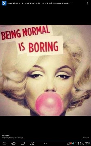 yes.my life and inspiration. ladies and gentleman marilyn monroe Motivated