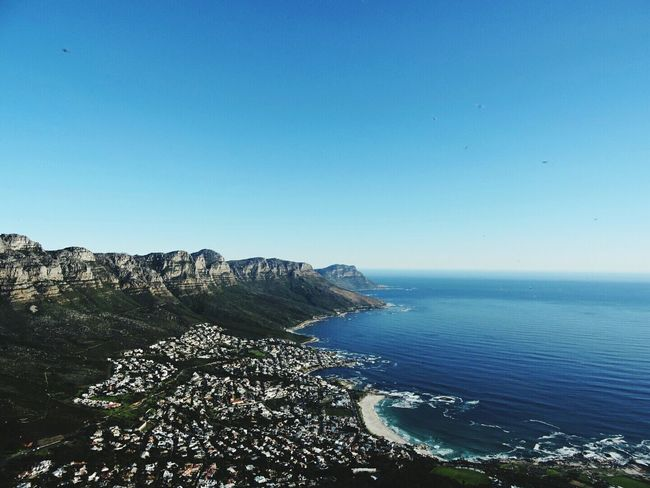 Capetown 12apostles Nature_collection Mountains Peak Ocean View View From The Top Bluesky South Africa Lionshead Nature Photography