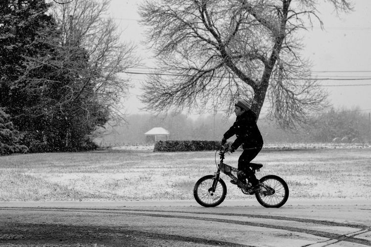 Visual Journal December 3, 2016 Western, Nebraska (Fujifilm Xt1,Canon FD 50mm f/1.8 ) edited with Google Photos. A Day In The Life B&W Collection Bicycle Bicycling Camera Work Everyday Lives Eye For Photography EyeEm Best Shots First Snow FUJIFILM X-T1 Kids Being Kids Manual Focus Manual Mode Photography Nifty Fifty Outdoors Photo Diary Photography Real People Rural America Small Town Stories Snowing Visual Journal Winter Winter_collection Wintertime