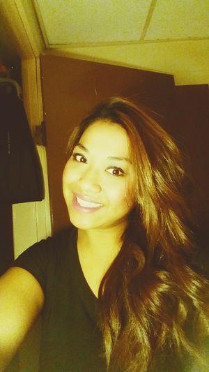 Just Smile  Selfie Blacktee Myhairtho