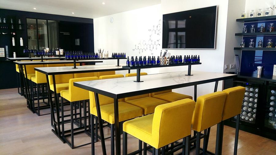 Modern Table Chair Workshop Parfume Atelier Labotary Paris