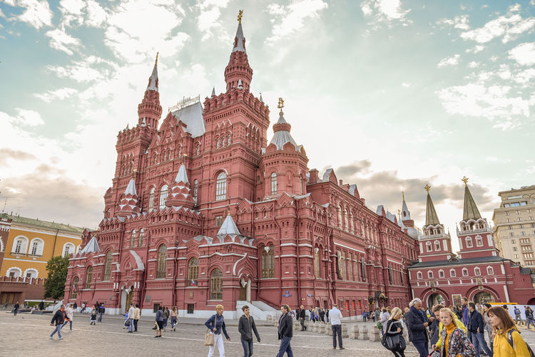 State Historical Museum Russia Moscow Architecture Building Building Exterior The Past Tourism Travel Travel Destinations Built Structure