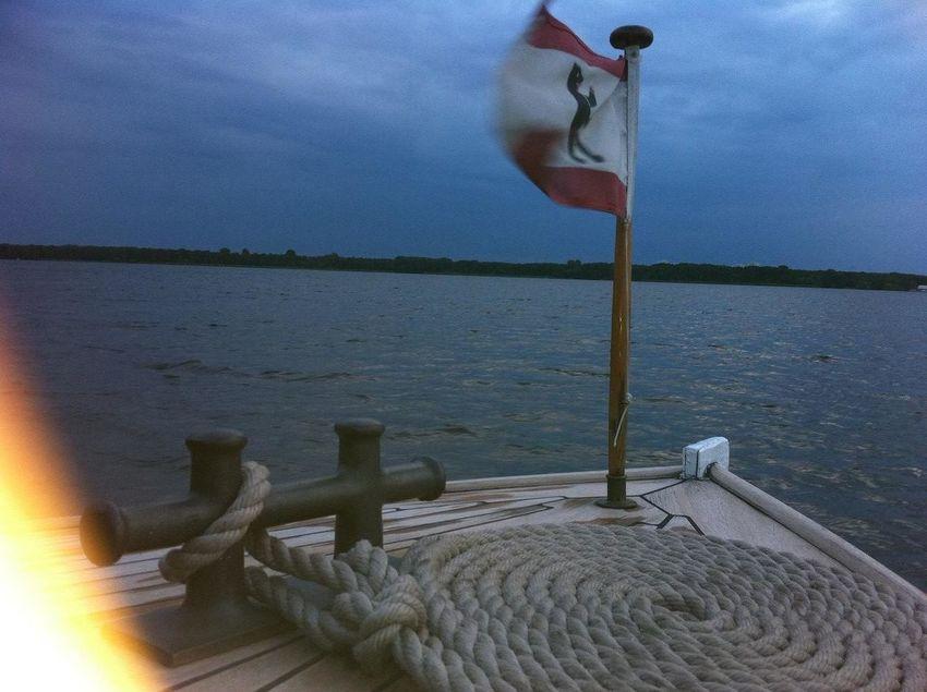 i'm on a boat at Auf dem Müggelsee I'm On A Boat