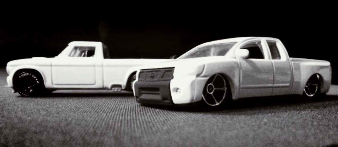 I love black and white HotWheels Custom