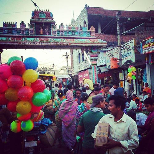 Busy Market Sangareddy