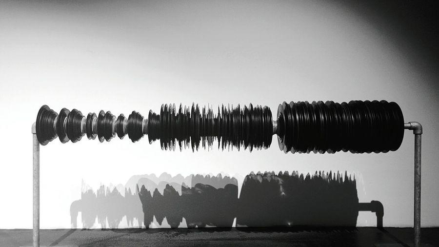 Day 303 - Wave form Berlin Blackandwhite Vinyl Waveform Art 365project 365florianmski Day303