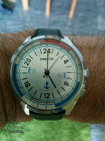 Streamzoofamily TheVille Paketa Raketa Old Watch Watch Wristwatch