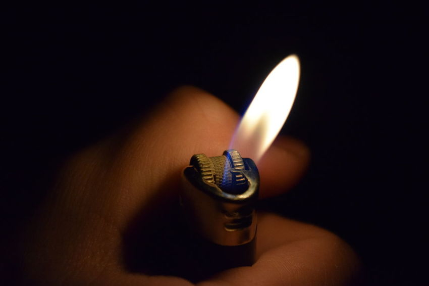 Flame Fire - Natural Phenomenon Burning Heat - Temperature Candle Cigarette Lighter Black Background No People Indoors  Studio Shot Close-up Day Break The Mold TCPM Art Is Everywhere Cut And Paste EyeEmNewHere