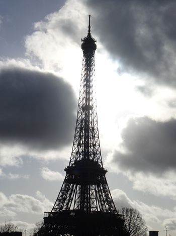 """Iron and Light"" Architectural Feature Architecture Built Structure Capital Cities  Cloud - Sky Cloudy Eiffel_tower  Eiffel Tower Famous Place No People Outdoors Sky Tall Tall - High Tower Travel Destinations"
