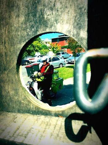 Lifeofthepostman Waiting Package Newzealand Postmanpat Forme? Worldthroughmyeyes Hello Chch Doorway Lock Safteyofhome Private Eyespy Secret Voyerism