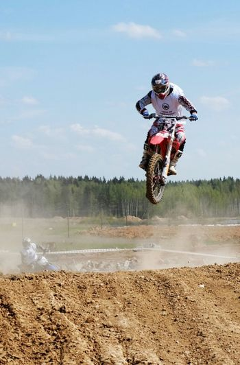 Enduro Racing Endurocross Victory Cup Passion On Motorcycles Motorcyclepeople Jump Color Photography