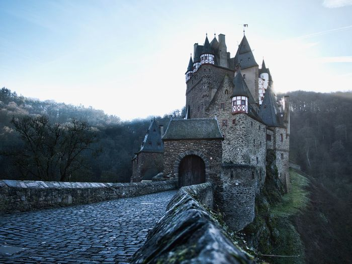 Architecture Built Structure Sky Building Exterior Building Nature Winter Cold Temperature Day No People History Outdoors Castle Germany