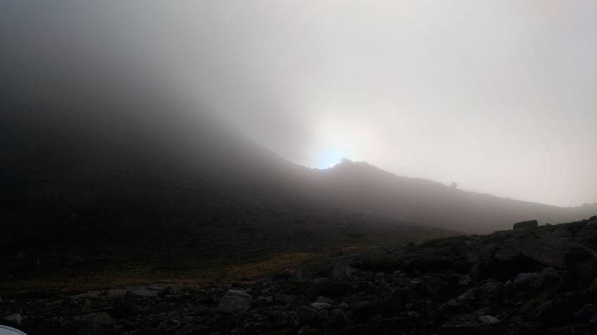 In the crater Hakusan Hakusan Kanazawa Dormant Volcano Climbing Hiking Astronomy Mountain Fog Winter Sky Landscape Hiker Mountain Range EyeEmNewHere