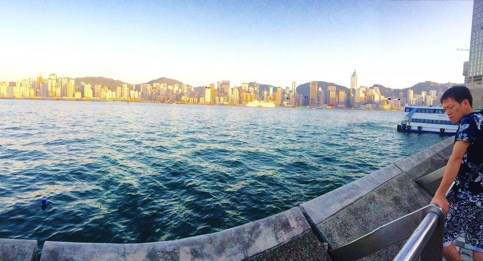 Reminiscing Hong Kong Island