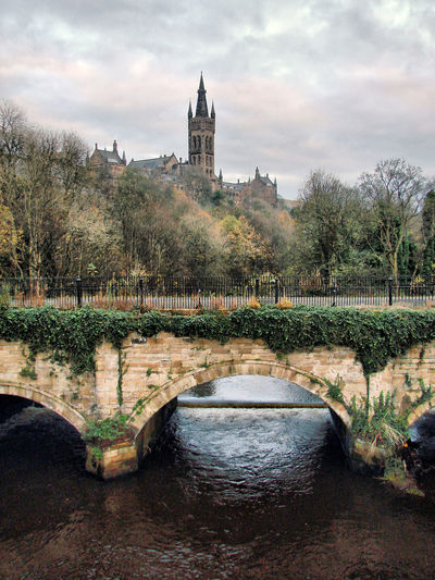 Glasgow  Glasgow University Glasgow Riverside Scottish Scenery Scottish Winter
