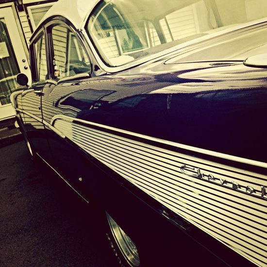 Car Classic Car Beautiful Day Taking Photos cool old car in mint condition. Love the Fins...