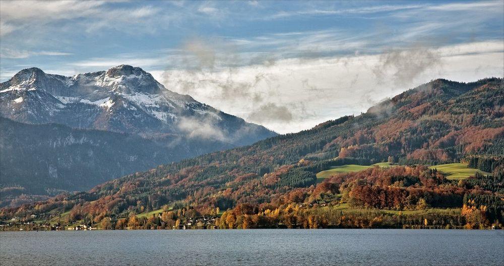 Attersee Autumn Austria