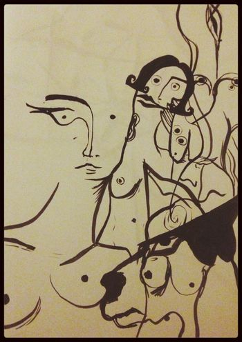 Lady Ink Ink Art Gallery My Drawing