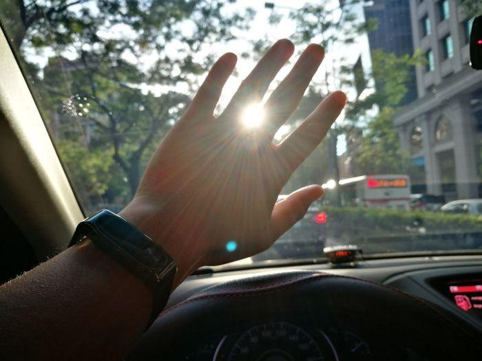 耀眼的陽光☀️ 照亮我的去路 不知道方向 不如就向著陽光前進