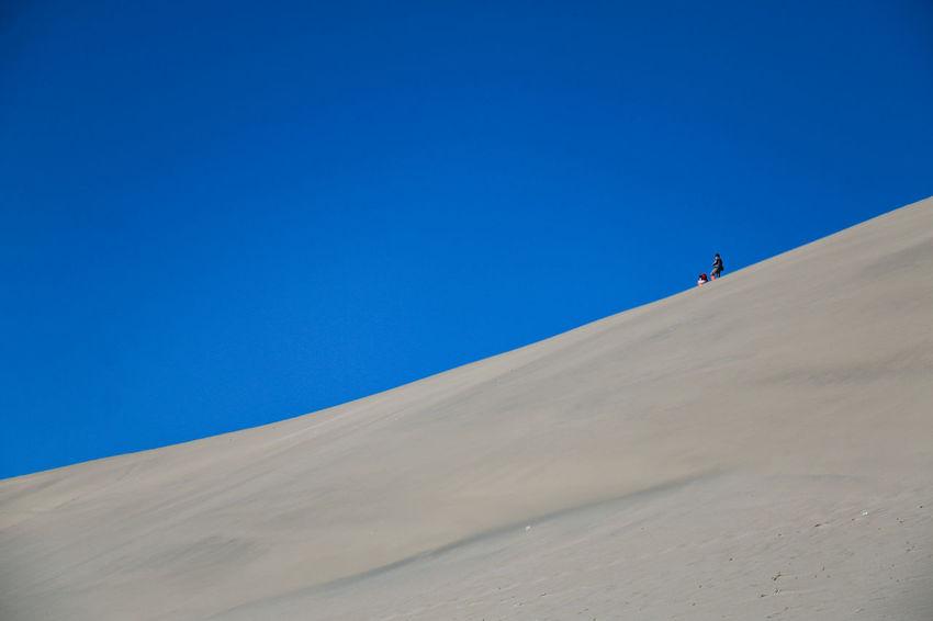 敦煌 鸣沙山 沙漠