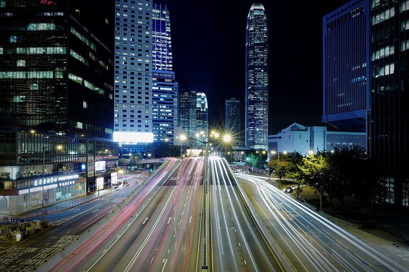 Admiralty HongKong Discoverhongkong Long Exposure Streetphotography Nightphotography Leica Leicaq Night Lights Light And Shadow Slow Shutter EyeEm Best Shots Hello World