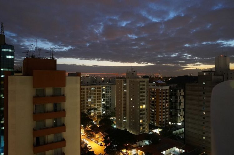 View of every day... Taking Photos Enjoying Life Sunset Sky Cmkphotos