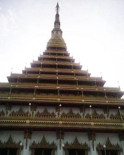 พระมหาธาตุแก่นนคร วัดหนองแวง ขอนแก่น Phra mahathat Kaen Nakhon (9 stories pagoda) Pagoda Greatness Wonderful Temple Konkean Northeasternthailand Thailand ThailandOnly Amazing ASIA Ancient History Architecture Travel Old Temple Beautiful Culture Historical Building Thailand