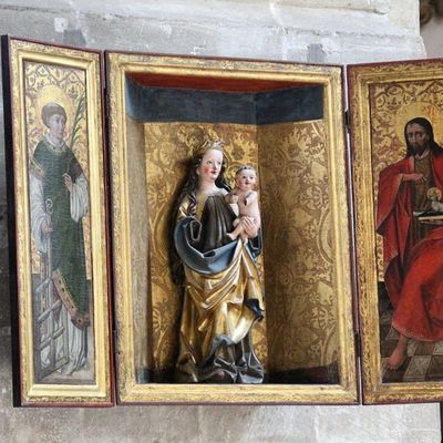 Altar im Merseburgerdom Kunst