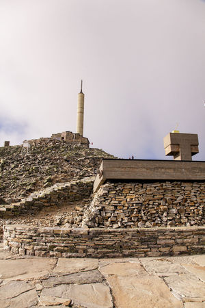 Norge Ancient Ancient Civilization Architecture Building Exterior Built Structure Day History Low Angle View Mountain Top Nature No People Norway Nature Old Ruin Outdoors Sky Travel Destinations