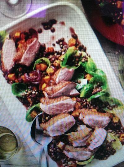 Food Fitnesss Motavation duck salad