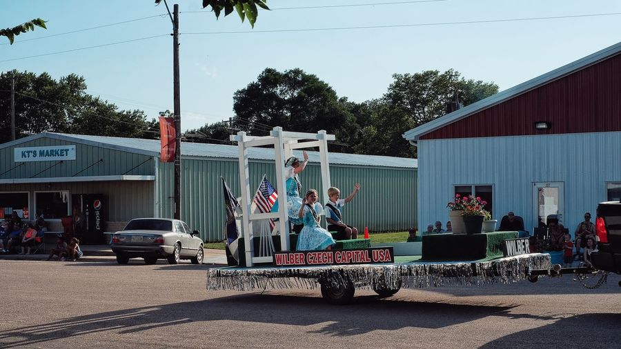 Parade 2016 Old Settlers Picnic Village of Western, Nebraska A Day In The Life Celebration Community Float Main Street USA Old Settlers Picnic Parade Photo Essay Road Rural America Small Town Life Small Town USA Storytelling Sunny Western Nebraska