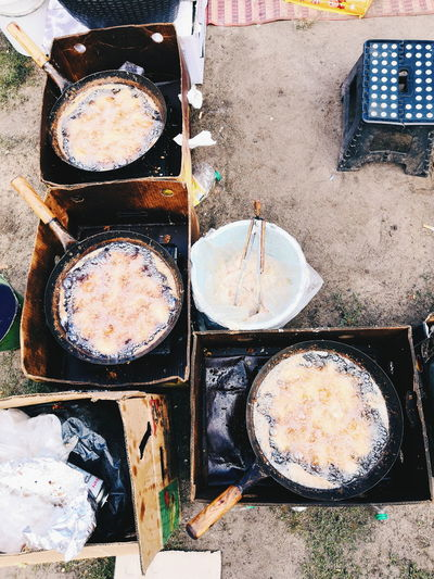 Frizzling Park Thai Pan Frying Pan Outdoors Streetphotography Street Photography Street Art Full Frame Close-up