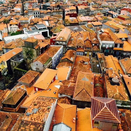 Torre Dos Clérigos Porto Rooftops Architecture Portugal Shingles Tiles Traditional Old Building