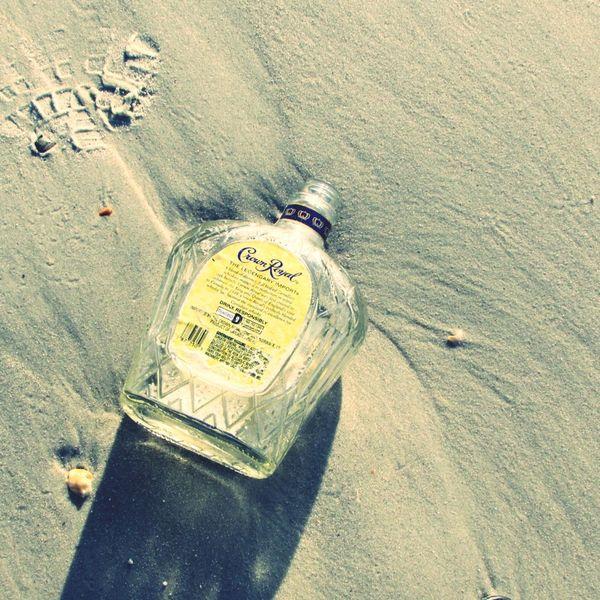 crown royal on the beach Beach Crown Royal Sand