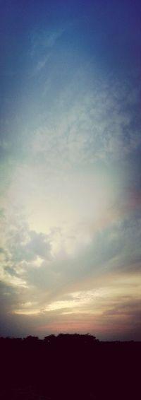 Evening Sky Peacefulview Panaroma