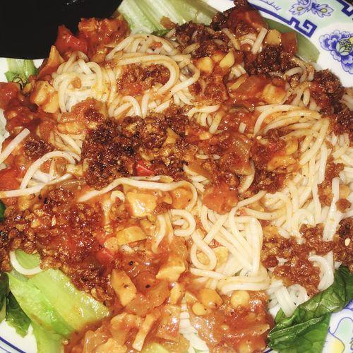 素食也可以很異國 Food And Drink Food Freshness Ready-to-eat Serving Size Noodles Healthy Eating