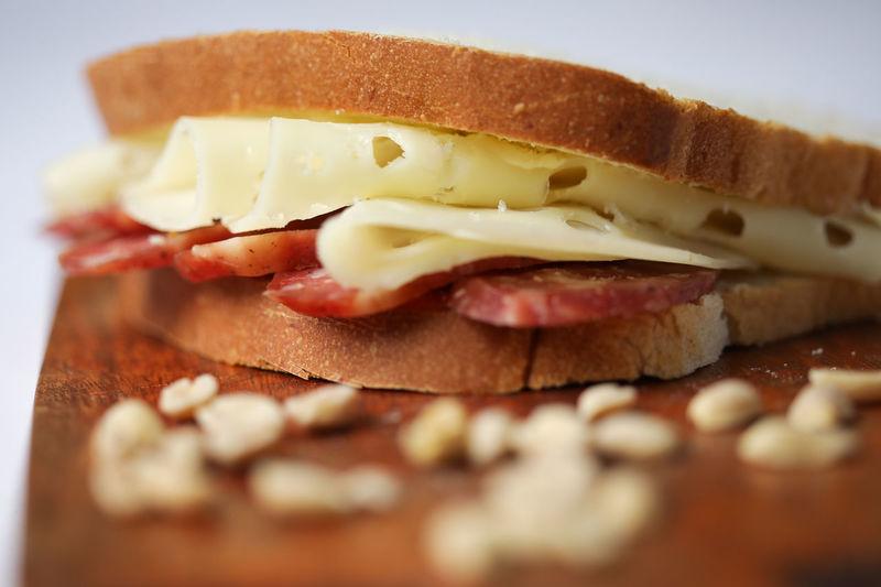 Close-up of sandwich
