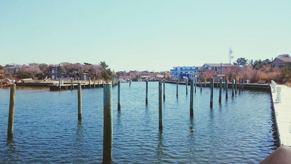 Marina Marine Ocen  Dock Water Island Puerto Fire Island NYC Long Island