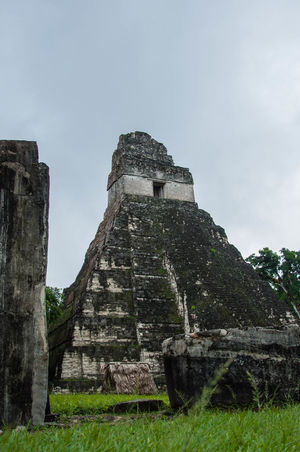 Ancient Ancient Civilization Architecture Famous Place Historic History Maya Old Old Ruin Outdoors Perspective Pyramid Religion Rock Rock - Object Rock Formation Ruined Sacrifice Spirituality Travel Destinations Travel Tikal