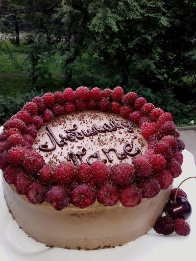 Cake Sweet Food Dessert Decoration Raspberry Chocolate Raspberry Cake Strawberry Creme Cake Photography ❤ Chokolatte Raspberry Season Chechen Girl ♥ Saint Petersburg