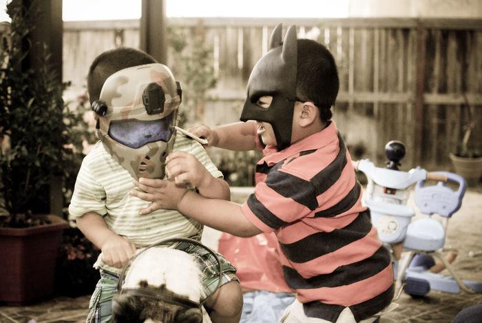 Batman V G.I. Joe