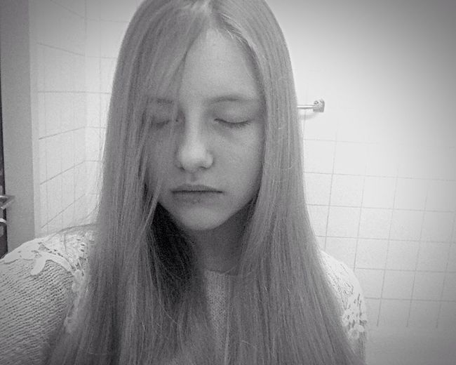 I'm lost in this mad world I'm Ugly Help Me I'm Not OK I'm Not Happy. I'm Not Cute