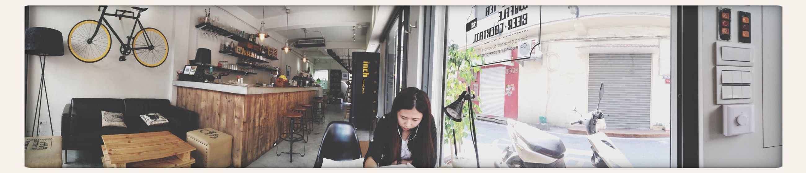 Studying Waffle Coffee Afternoon Tea