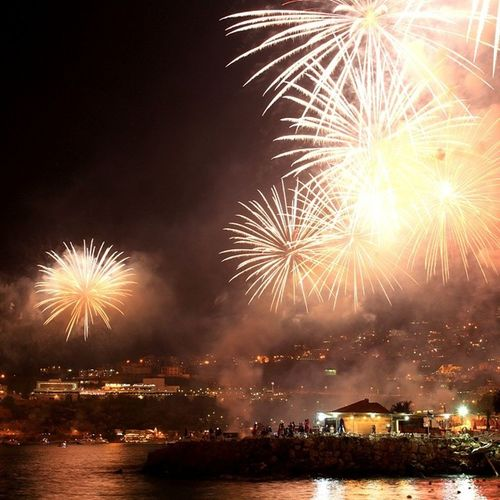 Hi Jounieh LiveLoveLebanon Fireworks WeBurnMoneyOnFireWorks