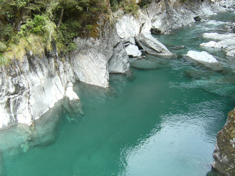 Blue Pools Day Nature New Zealand No People Outdoors River Water