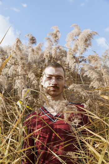 Hugo in the reed Beautiful Freshness Nature Paris Red Camargue Close-up Day Front View Grass Growth Leisure Activity Lifestyles Looking At Camera Low Angle View Nature One Person Outdoors Portrait Real People Sky Freckles Yellow Young Adult Young Men Fresh On Market 2017 Fashion Stories An Eye For Travel This Is Masculinity Visual Creativity Focus On The Story A New Beginning Autumn Mood The Modern Professional