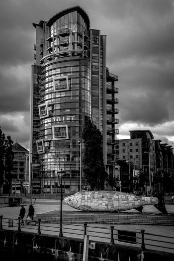 Architecture Big Fish Belfast County Antrim Northern Ireland Fujifilm X-Pro1