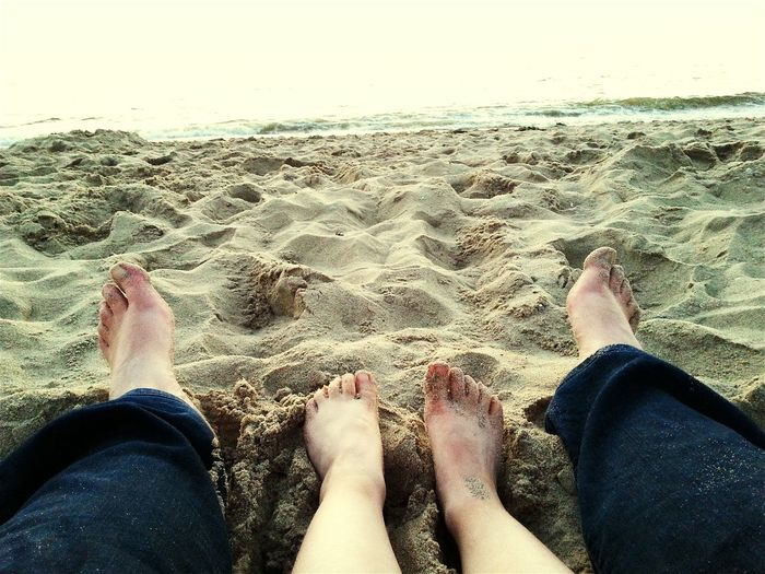 Enjoying Life Beach Feet Feet In The Sand