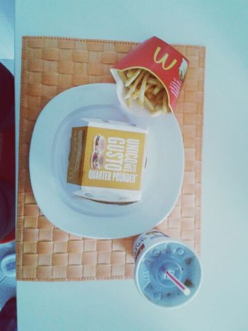 all I need McDonald Drug Lunch