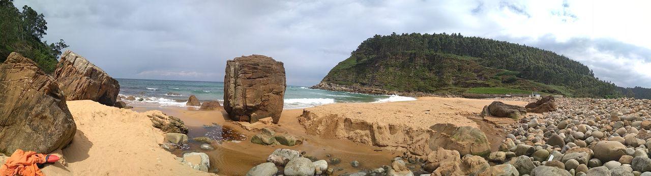 playa de Merón Sea Water Beach Sand Rock - Object Sky Cloud - Sky EyeEmNewHere